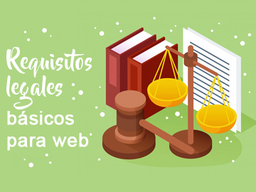 Requisitos legales básicos para web