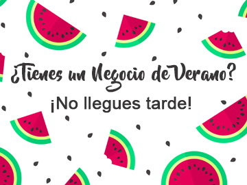 Negocio de verano marketing online
