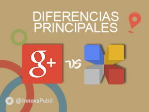 Diferencias entre Google+ y Google My Business