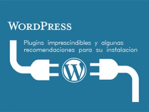 Plugins imprescindibles en WordPress